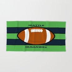 Seahawks Fans, Seattle Football Hand & Bath Towel