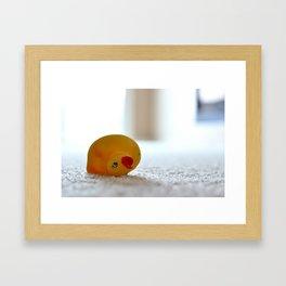 dog toy Framed Art Print