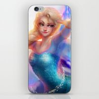 elsa iPhone & iPod Skins featuring Elsa by ChrySsV