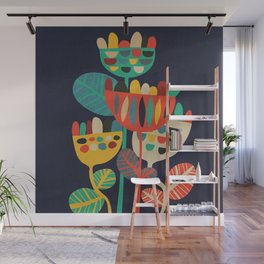 Wild Flowers Wall Mural