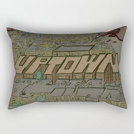 Drawing Uptown Rectangular Pillow