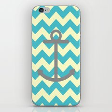 Chevron Anchor iPhone & iPod Skin