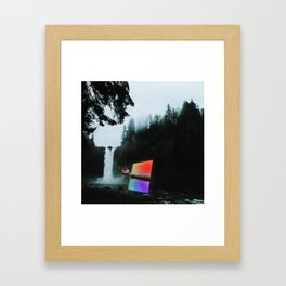 Portal into the Woods Framed Art Print