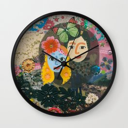 Paper Dollies - Couple Wall Clock