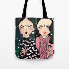 HELL BABES Tote Bag