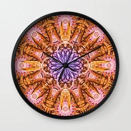Nucleus Mandala Wall Clock