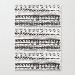 Dark aztec Canvas Print