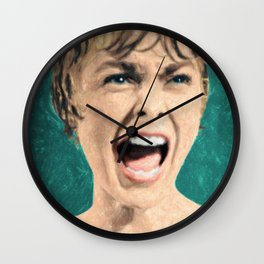Psycho Shower Scene Wall Clock