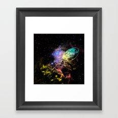 Unidentified Object Framed Art Print