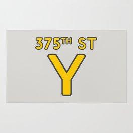 375th Street Y Rug