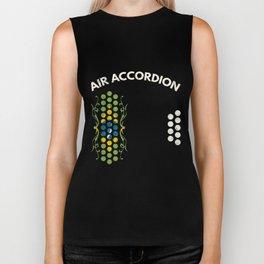 Air Accordion T-Shirt - The Flag of Brazil Biker Tank