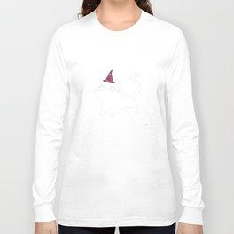 Kitty Cat Halloween Shirts Long Sleeve T-shirt