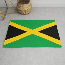 Jamaican Flag Rug