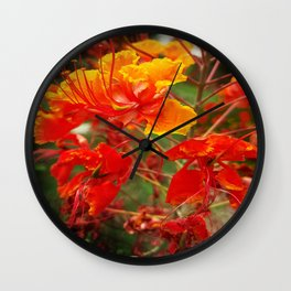 Fire Scale Wall Clock