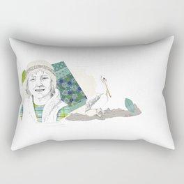 Child in Peru Rectangular Pillow