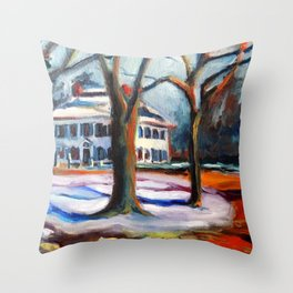 Old Sturbridge Village Throw Pillow