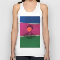 magritte Tank Tops featuring Magritte by Naomi Vona