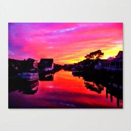 Bethany Sunset Canvas Print