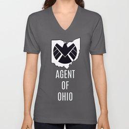 Agents Of OHIO Unisex V-Neck
