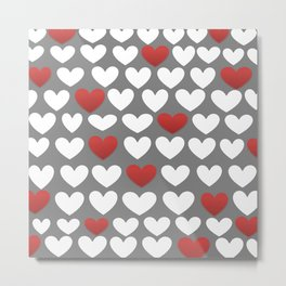 the heart of the matter  Metal Print