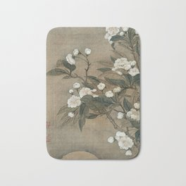 Yun Shouping - Pear Blossom And Moon Bath Mat