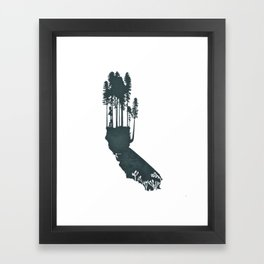 California is...The Forest Framed Art Print
