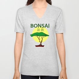 Bonsai II Unisex V-Neck