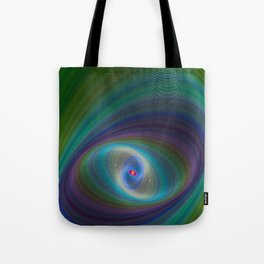 Elliptical Eye Tote Bag