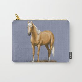 Beautiful Palomino Quarter Horse Carry-All Pouch