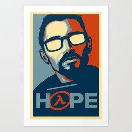 Half Life Hope Art Print