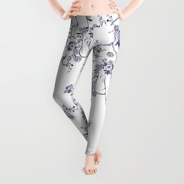Penis Pattern Leggings