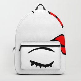 Style Girl - Face - Doodle Art Backpack