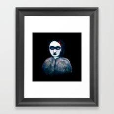 Carnival Lady Framed Art Print