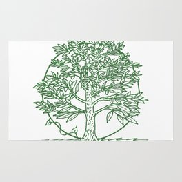 Forest Lover's Tree Rug