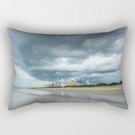 Ominous Storm Lurking  Rectangular Pillow