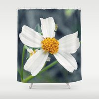 weed Shower Curtains featuring Lawn Weed by Glenn Designs