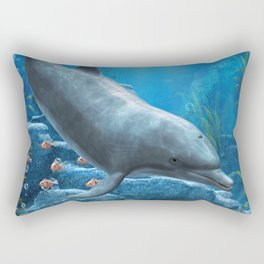 The World Of The Dolphin Rectangular Pillow