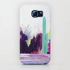 Cacti Watercolour Allsorts Galaxy S6 Slim Case