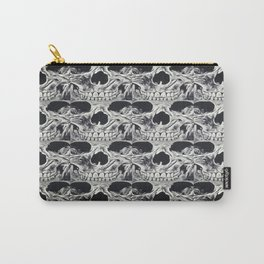 Skull Squares Carry-All Pouch