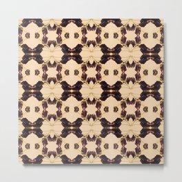 Blackberry Kaleidoscope Photographic Pattern #1 Metal Print