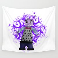 fear Wall Tapestries featuring Fear by BellaG studio