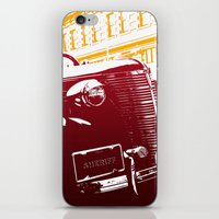 law iPhone & iPod Skins featuring The Law by Steel Graphics