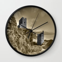 Crown Tin Mines  Wall Clock