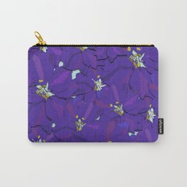 Larkspur Love Carry-All Pouch