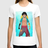 luffy T-shirts featuring Luffy by Yvan Quinet