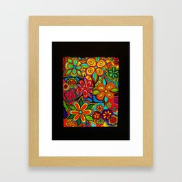 Colorful Arrangement by Anthony Davais Framed Art Print