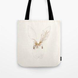 Miss Bunny Golden Brown Tote Bag