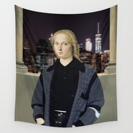 QUEEN OF THE CITY Wall Tapestry