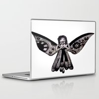 angel Laptop & iPad Skins featuring Angel by Sara Hazaveh