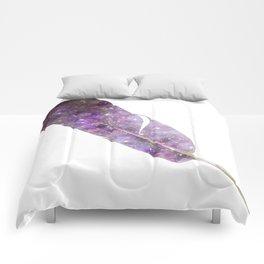 Cosmic Feather Comforters